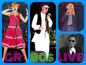 80s tribute band Live
