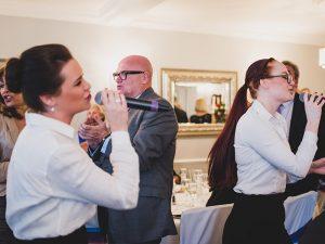Unique wedding ideas - singing waiters