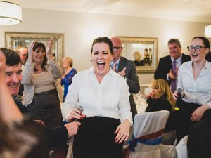 Wedding party ideas - singing waiters