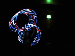 Hula Hoop Girl LED