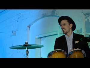 Electro Swing Band Percussionist