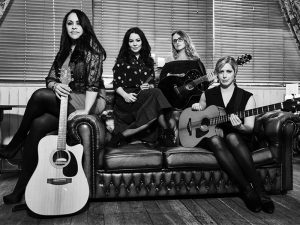 Female roaming band for hire
